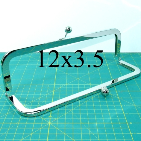 12x3.5 nickel-free purse frame