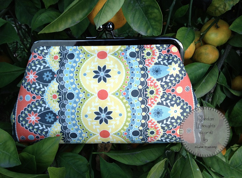 This is one of Diane's newer clutch designs.