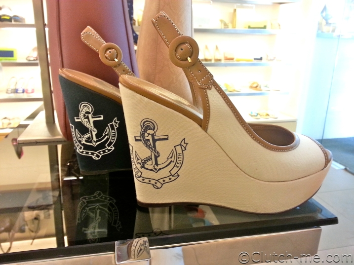 Love these wedges.  This is more subtle is better suited for my tastes.